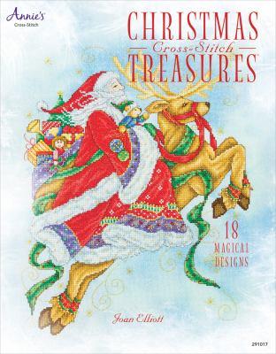 Christmas Cross-Stitch Treasures: 18 Magical Designs