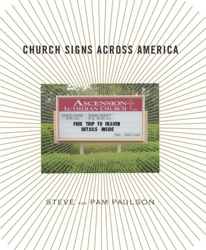 Church Signs Across America 9781590202166