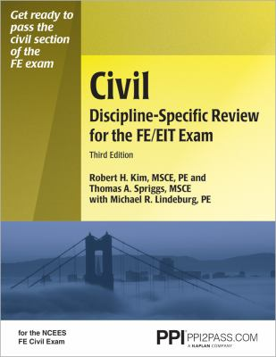 Civil Discipline-Specific Review for the FE/EIT Exam 9781591261773