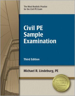 Civil PE Sample Examination 9781591263449