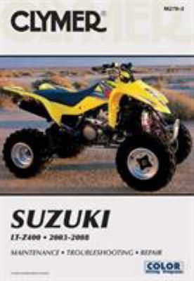 Clymer Suzuki LT-Z400 2003-2008 9781599692951