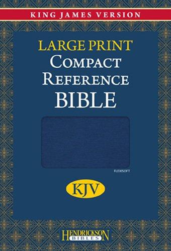 Compact Reference Bible-KJV-Large Print 9781598566192