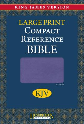 Compact Reference Bible-KJV-Large Print 9781598566208
