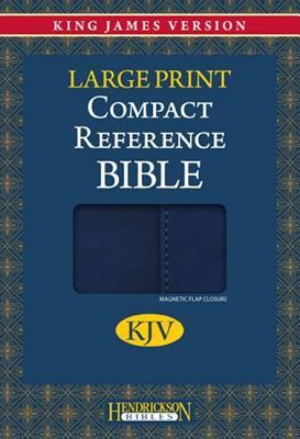 Compact Reference Bible-KJV-Large Print 9781598566246
