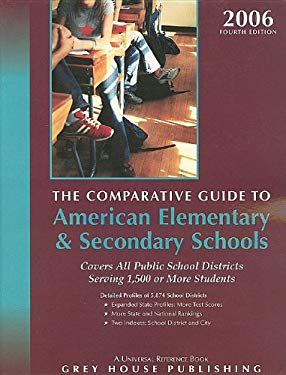 Comparative Guide to American Elementary & Secondary Schools: All Public School Districts Serving 1,500 or More Students 9781592371372