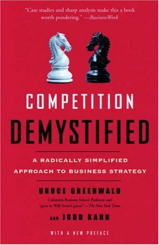 Competition Demystified: A Radically Simplified Approach to Business Strategy 9781591841807