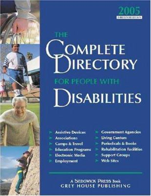 Complete Directory for People with Disabilities 9781592370542