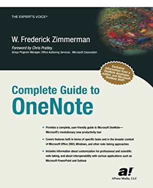 Complete Guide to OneNote 9781590592168