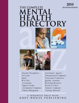 Complete Mental Health Directory 9781592375448