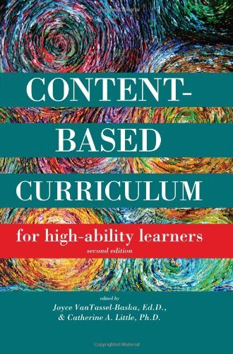 Content-Based Curriculum for High-Ability Learners 9781593633998