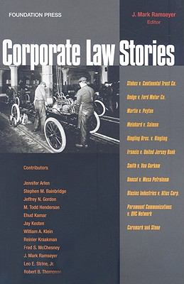 Corporate Law Stories 9781599414218