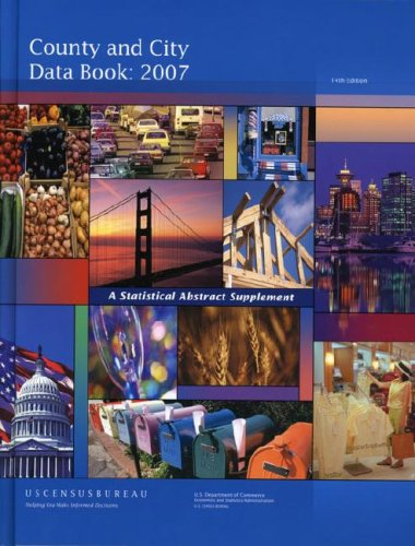 County and City Data Book: A Statistical Abstract Supplement 9781598044249