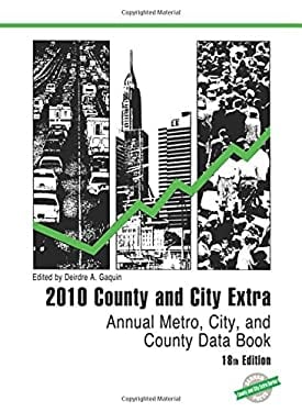 County and City Extra: Annual Metro, City, and County Data Book 9781598884098