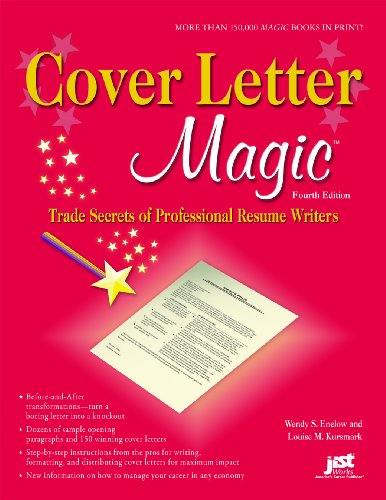 Cover Letter Magic: Trade Secrets of Professional Resume Writers 9781593577353