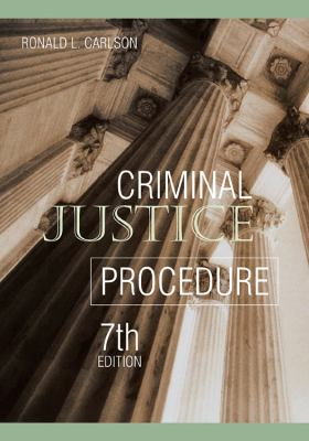Criminal Justice Procedure 9781593459611