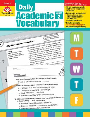Daily Academic Vocabulary Grade 2 [With Transparencies] 9781596732018