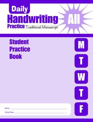 Daily Handwriting Practice: Student Practice Books 9781596731219