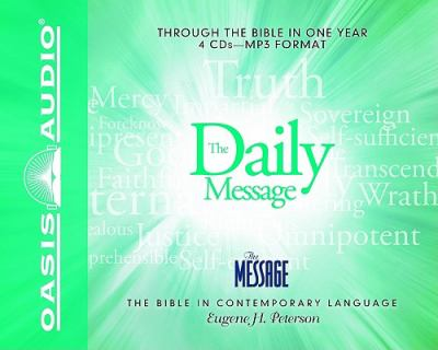 Daily Message Bible-MS 9781598594577