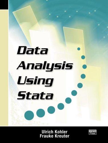 Data Analysis Using Stata 9781597180078