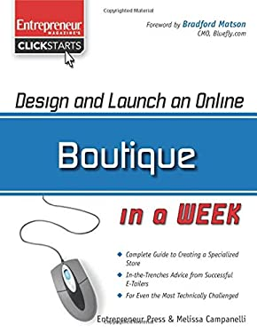 Design and Launch an Online Boutique in a Week 9781599181882