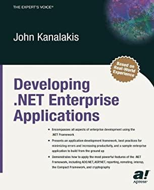 Developing .Net Enterprise Applications 9781590590461