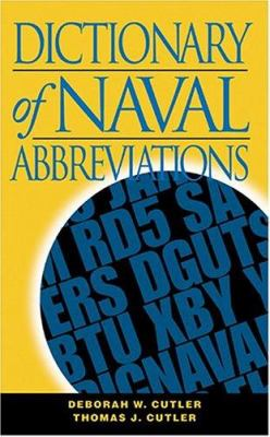 Dictionary of Naval Abbreviations 9781591141525