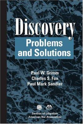 Discovery: Problems and Solutions 9781590313473