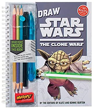 Draw Star Wars: The Clone Wars 9781591746980