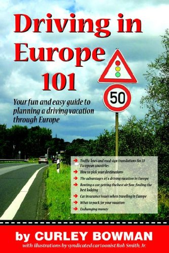 Driving in Europe 101 9781599754895