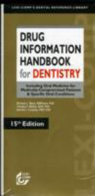 Drug Information Handbook for Dentistry 9781591952695