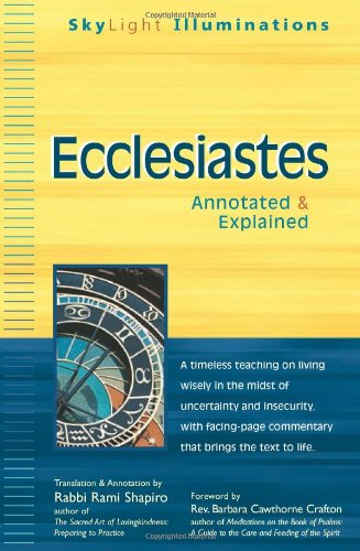 Ecclesiastes: Annotated & Explained 9781594732874