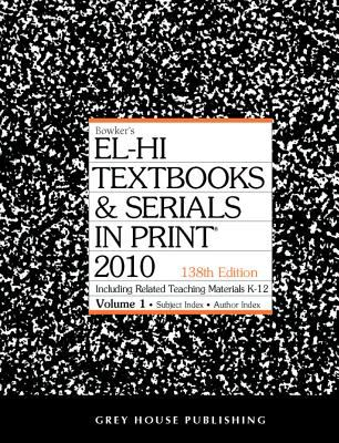 El-Hi Textbooks & Serials in Print 2 Volume Set 9781592376209