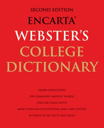 Encarta Webster's College Dictionary: 2nd Edition 9781596910850