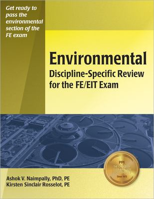 Environmental Discipline-Specific Review for the FE/EIT Exam 9781591260189