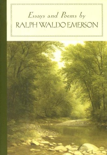 ralph waldo emerson books essays Free shipping on all us orders over $10 overview essays and poems, by ralph waldo emerson, is part of the barnes & noble classics series, which offers quality editions at affordable prices to the student and the general reader, including new scholarship, thoughtful design, and pages of carefully crafted extras.