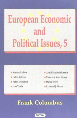 European Economic and Political Issues 9781590333228