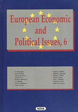 European Economic and Political Issues 9781590334041