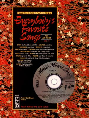 Everybody's Favorite Songs - Low Voice, Vol. I [With CD]