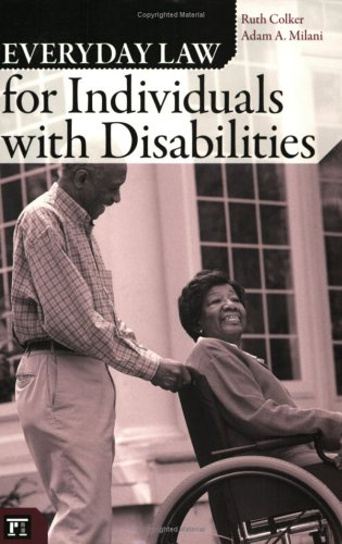 Everyday Law for Individuals with Disabilities 9781594511455