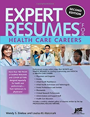 Expert Resumes for Health Care Careers 9781593577827