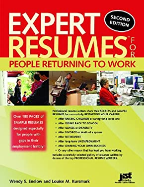 Expert Resumes for People Returning to Work 9781593573621