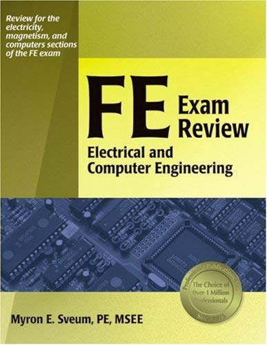 FE Exam Review: Electrical and Computer Engineering 9781591260691