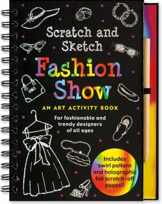 Fashion Show: For Fashionable and Trendy Designers of All Ages [With Wooden Stylus] 9781593598273