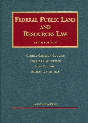 Federal Public Land and Resources Law 9781599411637