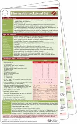 Fibromyalgia Pocketcard Set 9781591030812