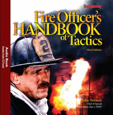 Fire Officer's Handbook of Tactics, Third Edition -- Audio Book 9781593701727