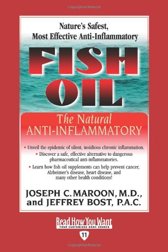 Fish Oil: The Natural Anti-Inflammatory 9781591201823