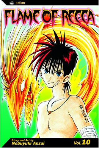 Flame of Recca, Volume 10 9781591166368