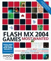 Flash MX 2004 Games Most Wanted 7241075
