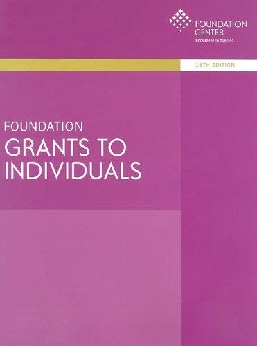 Foundation Grants to Individuals 9781595422460